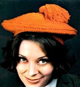 Crochet Hat Pattern #2148 by Free Vintage Crochet