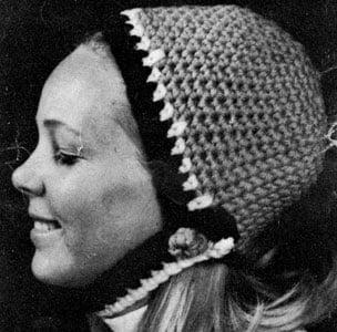 Crochet Hat Pattern #2153 by Free Vintage Crochet