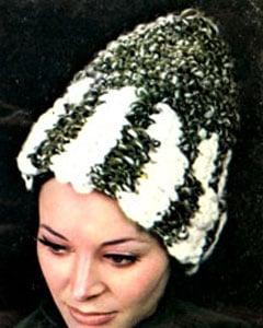 Crochet Hat Pattern #2157 by Free Vintage Crochet