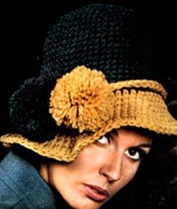 Crochet Hat Pattern #2160 by Free Vintage Crochet