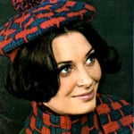 Crochet Beret and Scarf Pattern #2161 ~ Free Vintage Crochet