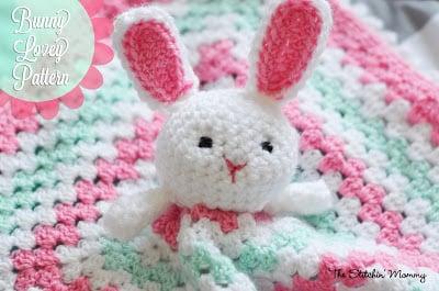 Bunny Lovey ~ The Stitchin' Mommy