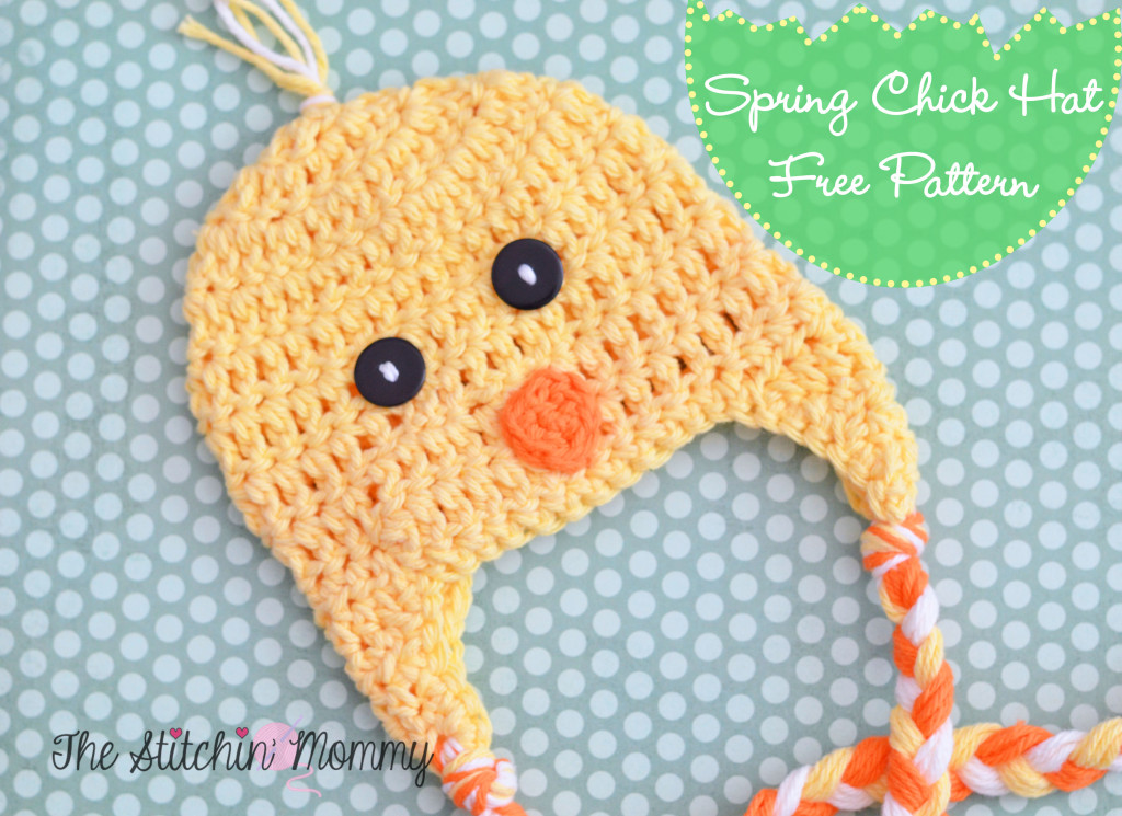 Spring Chick Hat by The Stitchin' Mommy