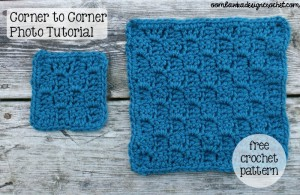 Corner-to-Corner Shell Stitch - Coaster, Square or Afghan by Oombawka Design
