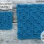 Corner-to-Corner Shell Stitch - Coaster, Square or Afghan ~ Oombawka Design
