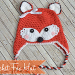 Crochet Fox Hat ~ The Stitchin' Mommy
