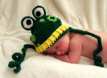Ribbitz the Frog ~ Snappy Tots