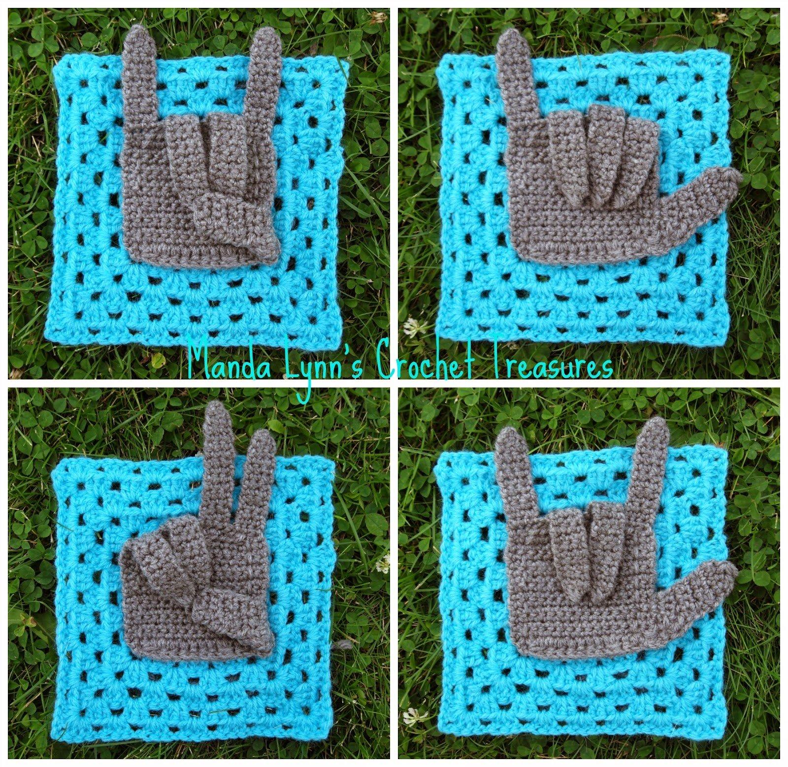 Give Granny A Hand by Manda Proell of MandaLynn's Crochet Treasures