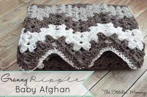 Granny Ripple Blanket ~ The Stitchin Mommy