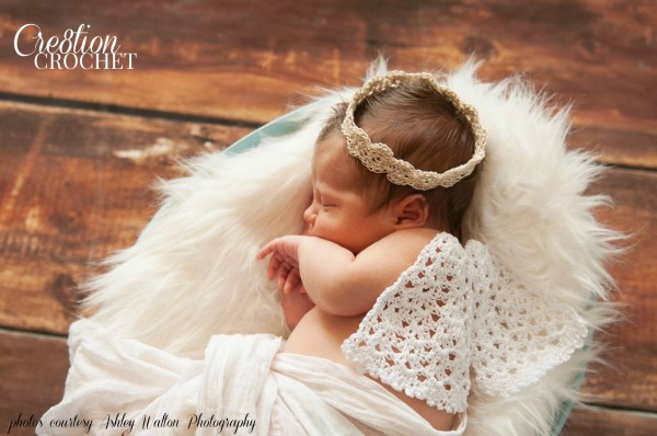 Angel Wings and Halo by Cre8tion Crochet
