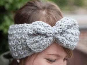1-2-3 Bow Headband by grannysquaredontcare