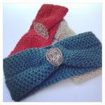 Slip Stitch Headband ~ grannysquaredontcare