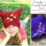 Dragonfly Graph by Kaleidoscope Art & Gifts for Cre8tion Crochet