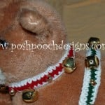 Jingle Bell Decorative Collar for Dogs and Cats by Sara Sach of Posh Pooch Designs