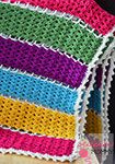 Jeweled Lattice Afghan by The Stitchin' Mommy
