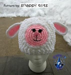 Petunia Lambikins Hat Pattern ~ Snappy Tots