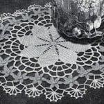 Daisy Ring Doily ~ Free Vintage Crochet