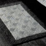 Contoured Crochet Rug by Free Vintage Crochet
