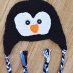 Crochet Penguin Hat by The Stitchin' Mommy