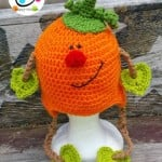 Patrick Pumpkin Hat by Snappy Tots