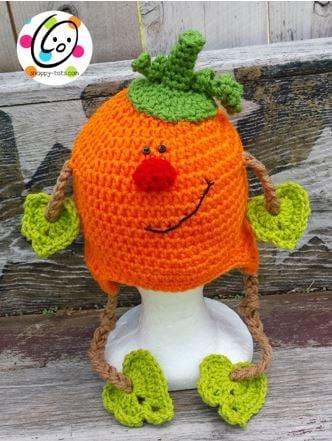 Patrick Pumpkin Hat by Snappy Tots