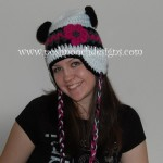 Christina's Panda Hat by Sara Sach of Posh Pooch Designs