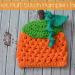 Pumpkin Hat by The Stitchin' Mommy
