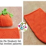 Newborn Baby Pumpkin Set ~ Snappy Tots