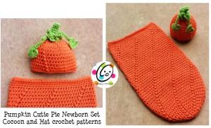 Newborn Baby Pumpkin Set ~ Snappy Tots