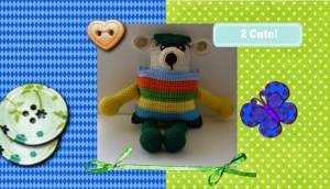 Funmigurumi Stripers: Chay Chay by Craftybegonia's Funmigurumi and Kids' Stuff