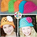 Sunny Brimmed Cloche by Snappy Tots