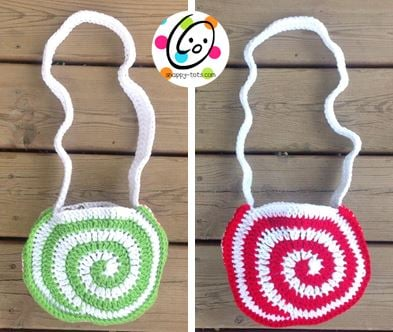 Swirly Purse and Backpack by Snappy Tots