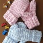 Children's Mittens ~ Patterns For Crochet