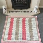 Fireside Rug by Patterns For Crochet