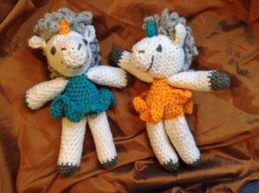 Crochet Ballerina Unicorn Amigurumi by Followthestray