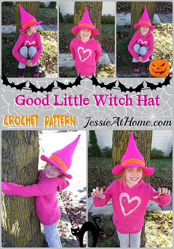 Good Little Witch Hat by Jessie At Home