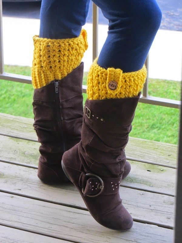 Bailey Boot Cuffs by Crochet Dreamz