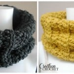 Chunky Ribbed Cowl by Cre8tion Crochet