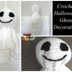 Crochet Halloween Ghost ~ Meladora's Creations