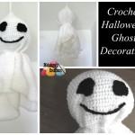 Crochet Halloween Ghost by Meladora's Creations