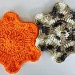 A Flower Falls Dishcloth by DragonFlyMomof2 Designs