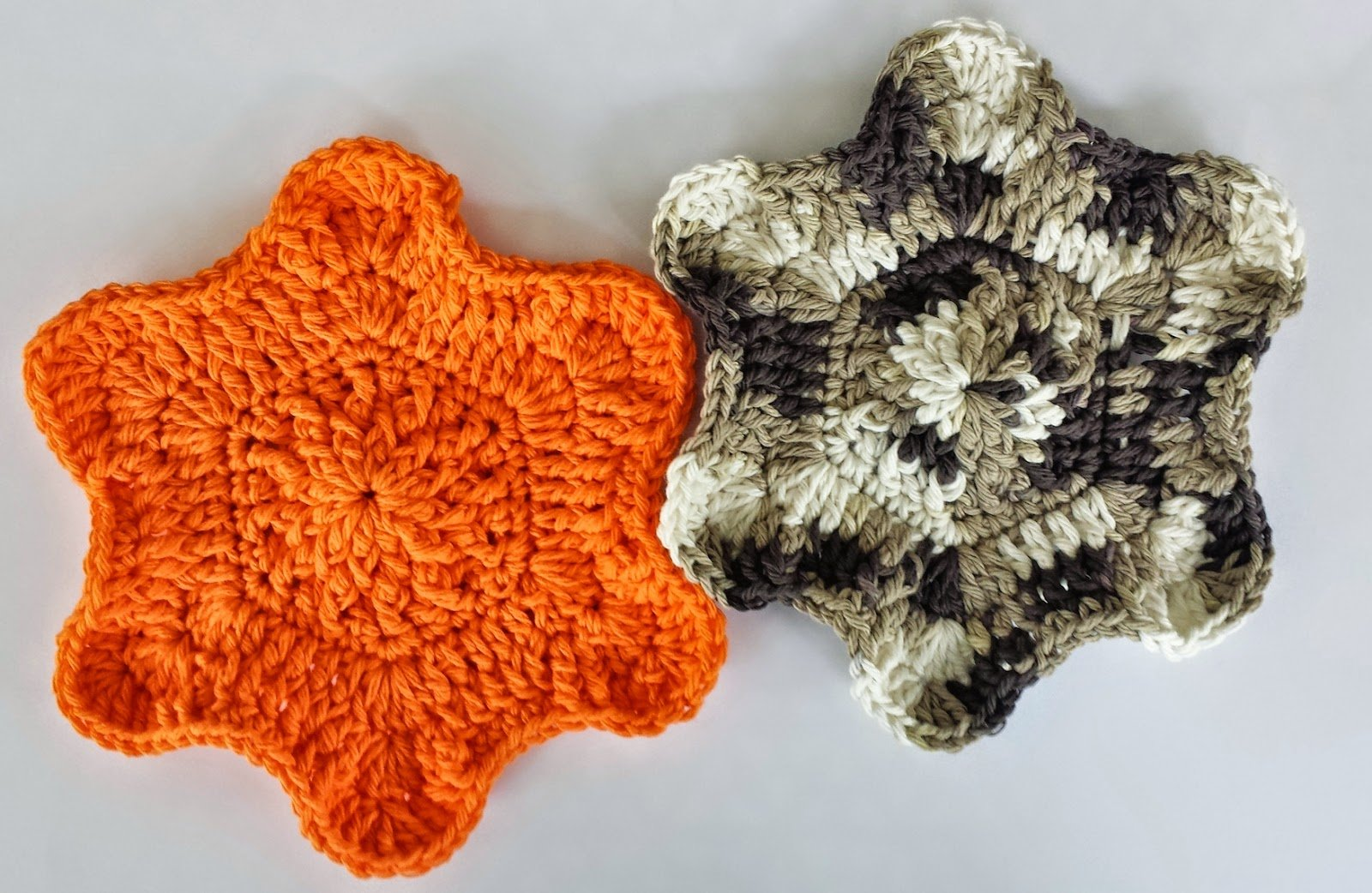 A Flower Falls Dishcloth by DragonFlyMomof2 Designs