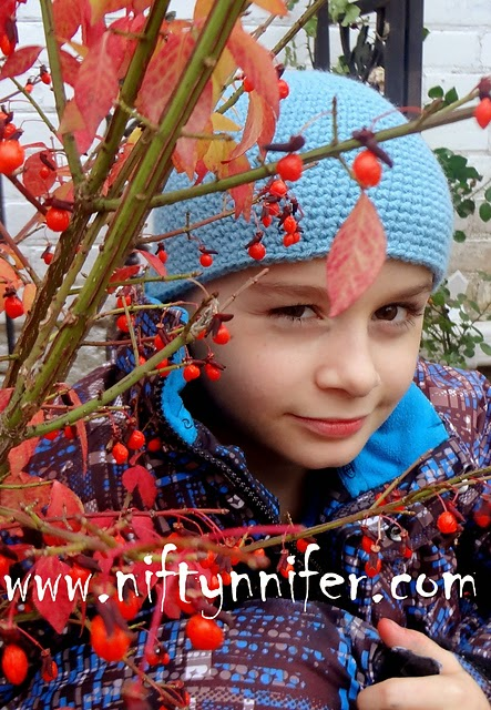 Brandon's Beanie ~ Jennifer Gregory - Niftynnifer's Crochet & Crafts