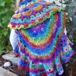 Kaleidoscope Dream Circle Vest by Jennifer Gregory of Niftynnifer's Crochet & Crafts