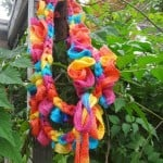 Braided Sashay Scarf ~ Jennifer Gregory - Niftynnifer's Crochet & Crafts