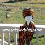 Camo Hunting Beanie by Sara Sach of Posh Pooch Designs