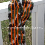 Camo Infinity Scarf Neck Warmer by Sara Sach of Posh Pooch Designs