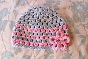 Cluster Hat - 9-12 Months ~ Alli Crafts