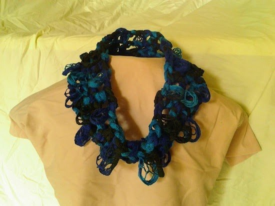 Scalloped Cowl by Crochet is the Way