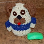 Dog Bath Buddy - Dog Puppet ~ Sara Sach - Posh Pooch Designs